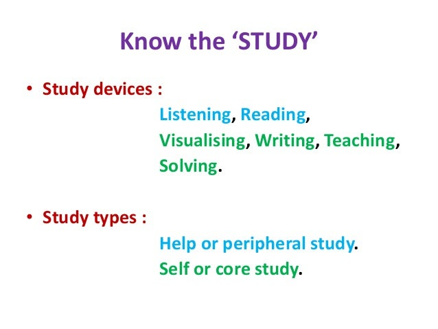 Techniques for Effective Self-Study Slide 3