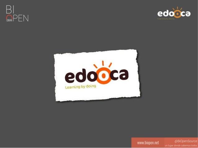 Índice ● ¿Qué es Edooca? ● ¿Qué es Moodle? ¿Porqué Moodle? ● Buenas prácticas, tendencias y novedades de las últimas versi...