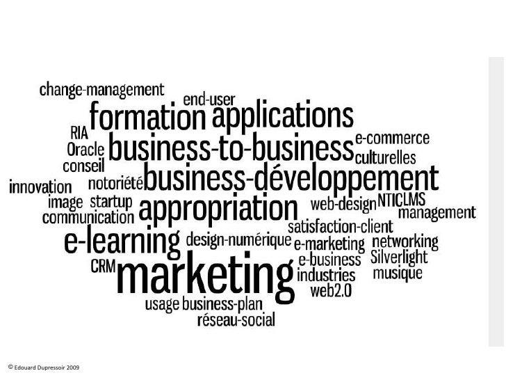 Edouard Realisations Business Developpement & Marketing Slide 2