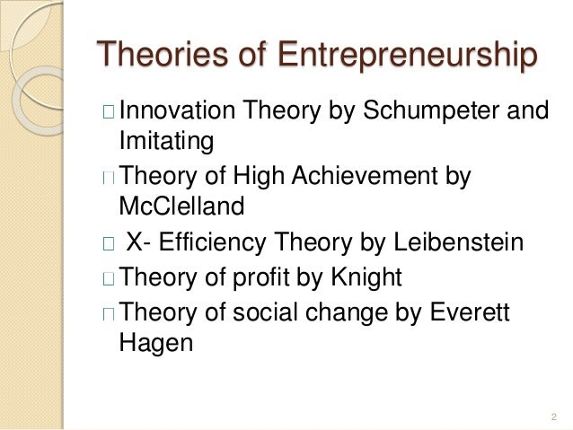 entrepreneurship theories Entrepreneurship: concepts, theory and perspective introduction álvaro cuervo1, domingo ribeiro2 y salvador roig 2 1universidad complutense.