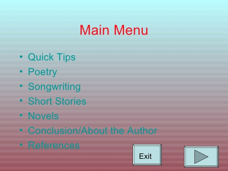 Creative writing service tips and techniques