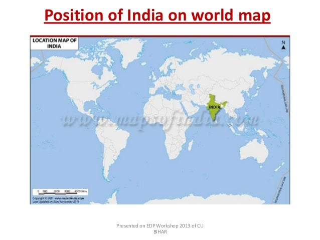 Italy a study position of italy on world map presented on edp workshop 2013 of cu bihar 8 position of india gumiabroncs Gallery