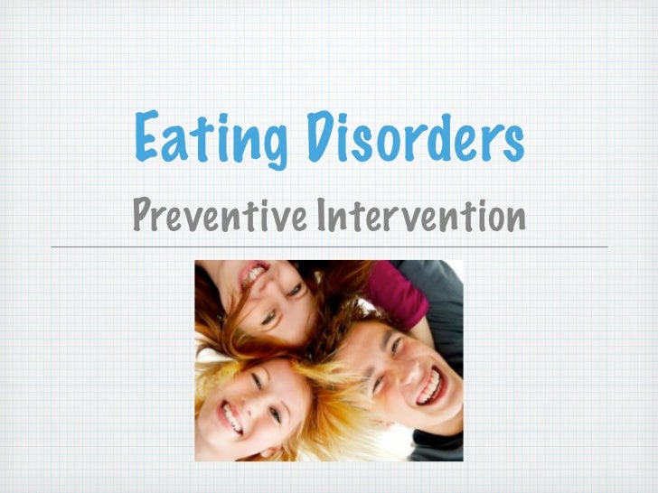 Eating DisordersPreventive Intervention