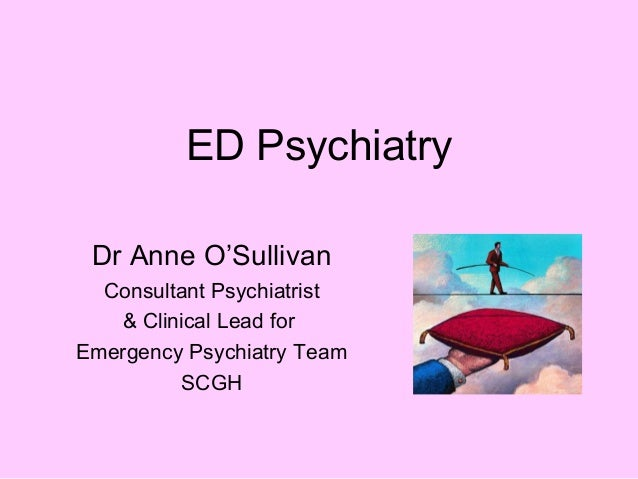 ED Psychiatry