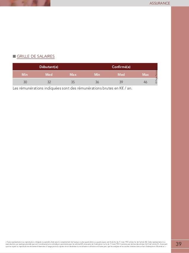 Etude de r mun rations assurance 2013 2014 - Grille salaire technicien de laboratoire prive ...