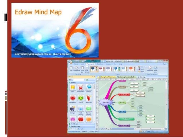 Características Edraw mind map es un programa gratuito disponible en dos versiones gratuita y demo ambas comparten el mism...