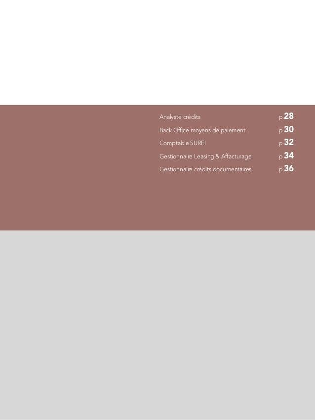 Etude de r mun rations banque r seau et financements sp cialis s 2013 - Gestionnaire back office banque ...