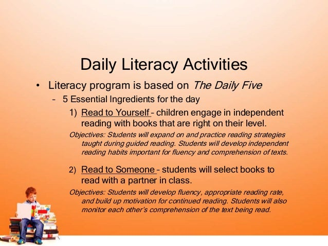 Second Grade Balancy Literacy Program with Daily 5