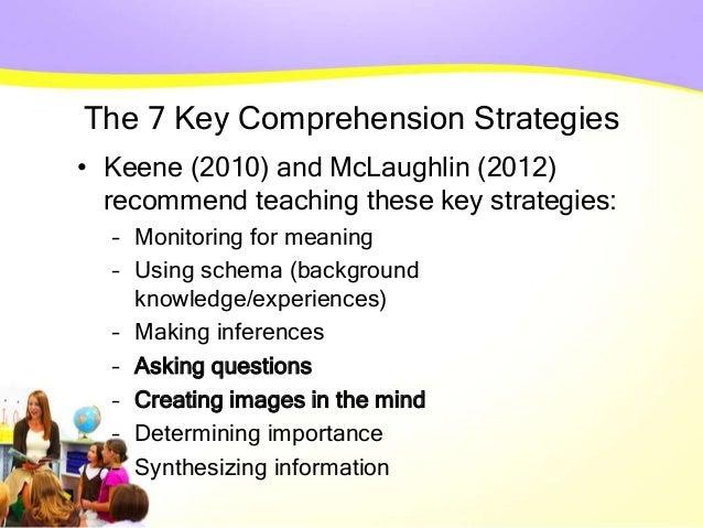 6 The 7 Key Comprehension Strategies
