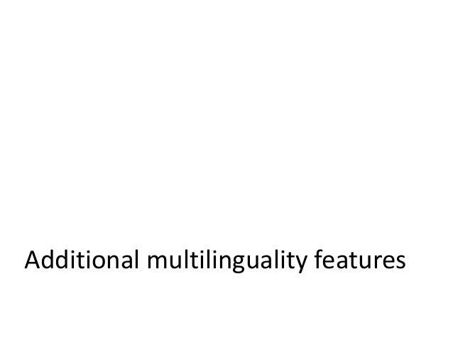 Multilingual metadata AP • Organic.Edunet IEEE LOM AP based on the IEEE LOM standard • The Organic.Edunet IEEE LOM AP is c...