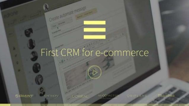 Edrone CRM deck presentation Slide 2