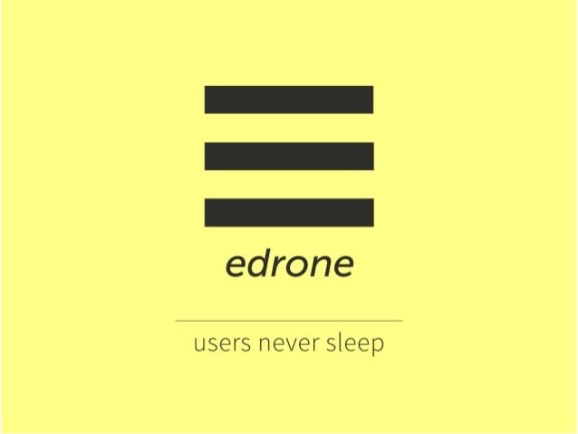 edrone CRM for e-business / keep better relations with clients