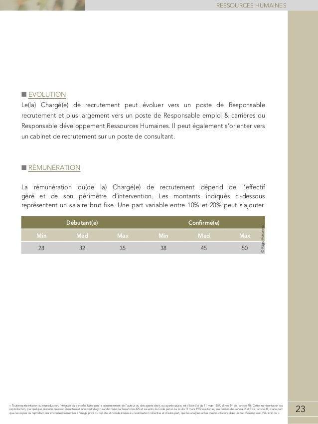 Etude de r mun rations ressources humaines 2013 2014 - Cabinet de recrutement ressources humaines ...