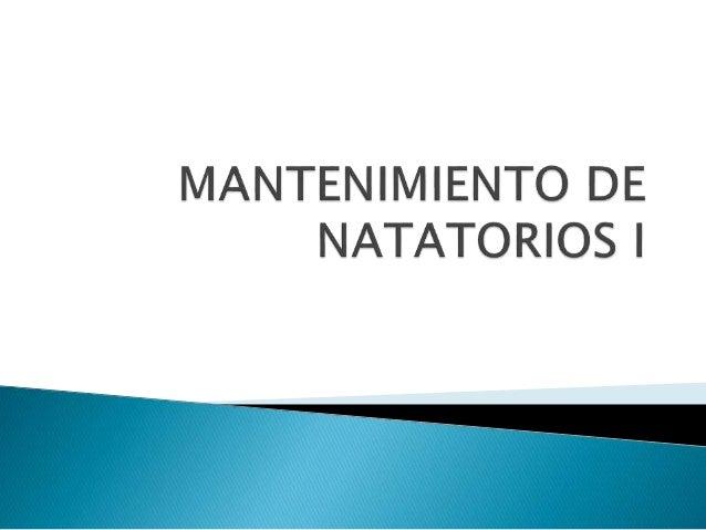 NATATORIO RECINTO DE PILETA PILETA