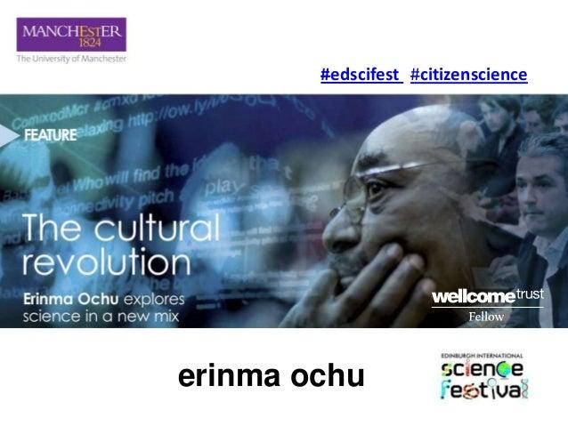 #edscifest #citizenscienceerinma ochu