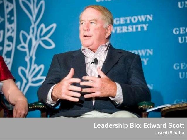 Leadership Bio: Edward Scott Joseph Sinatra