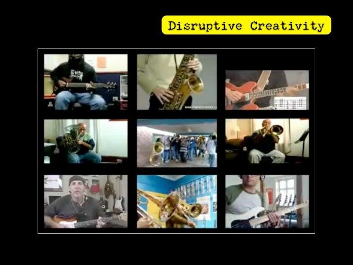 Distributed Creativity