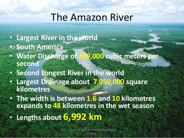 Ed Stafford - Largest river in the world