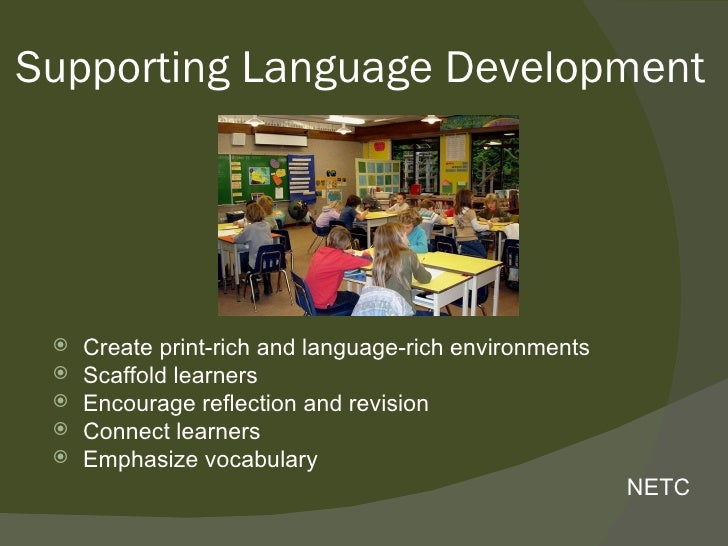 importance of language rich classroom