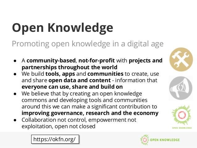 Open data in Education Slide 3