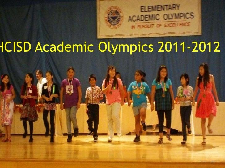 HCISD Academic Olympics 2011-2012