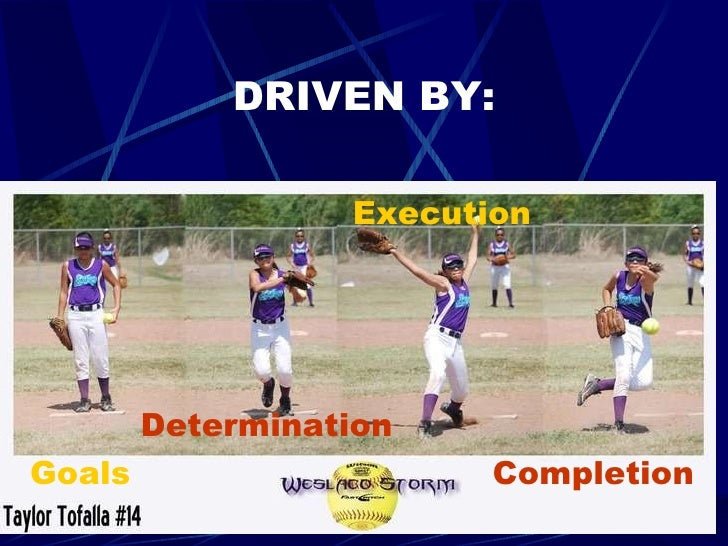 DRIVEN BY: Goals Determination Execution Completion