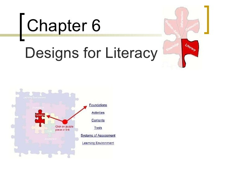 Chapter 6   Designs for Literacy