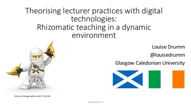 """@louisedrumm Main themes in response to """"Why do you use digital technologies in your teaching?"""" Theorising lecturer practi..."""