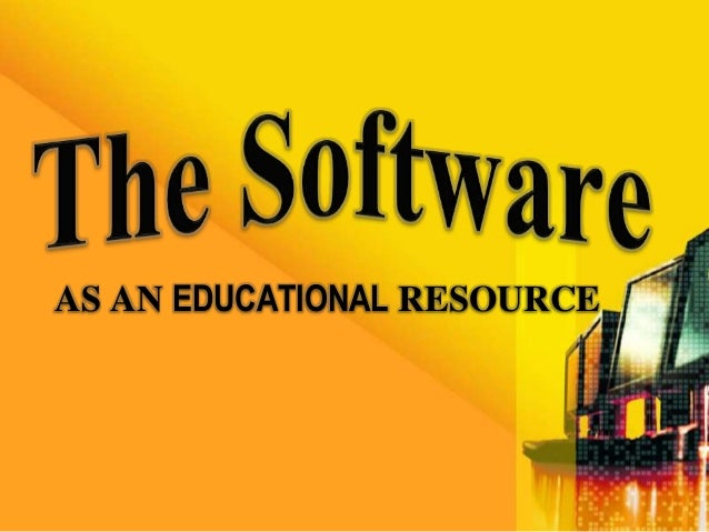 AS AN EDUCATIONAL RESOURCE