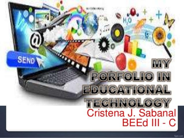 Cristena J. Sabanal BEEd III - C