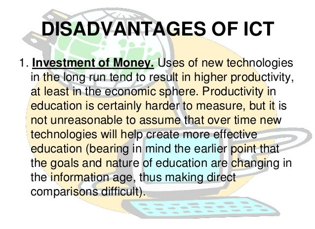 impact of communication technology on vocational life Impact of communication technology on vocational life explain how technology has affected communication in kenya today communication refers to the activity of conveying information through the exchange of thoughts.