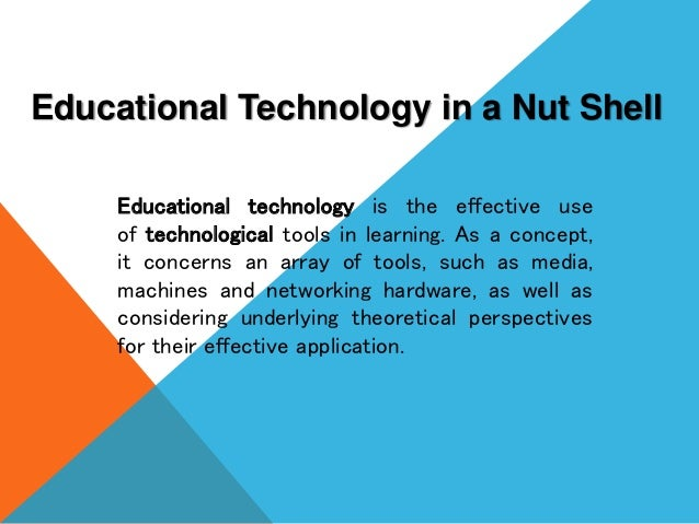 Education Technology 1 And 2