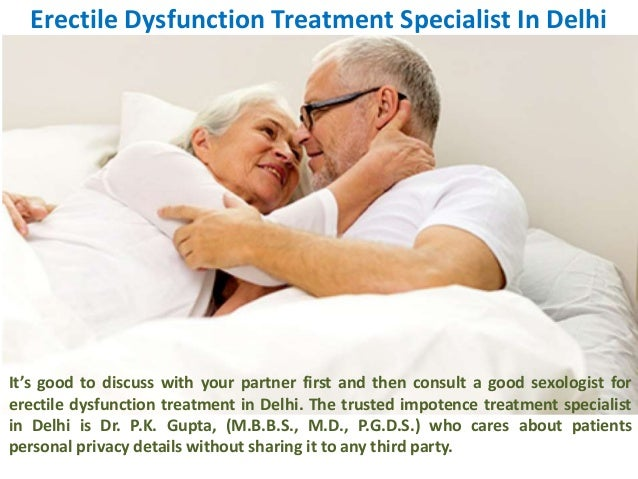 which doctor to consult for erectile problem