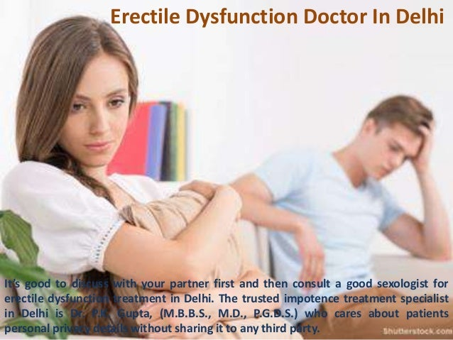 best doctor for erectile dysfunction