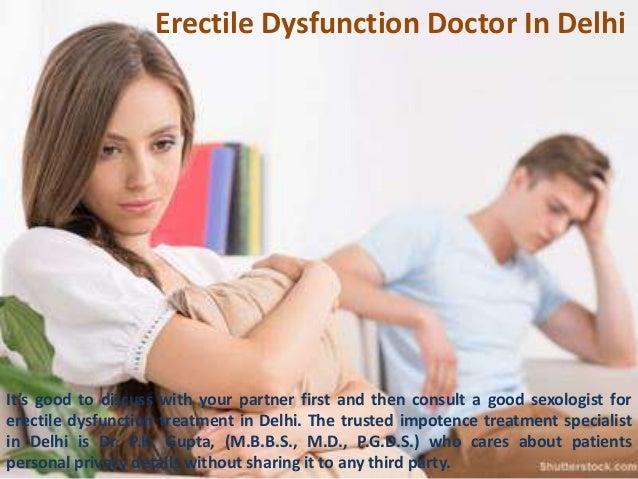 best doctor for erectile dysfunction