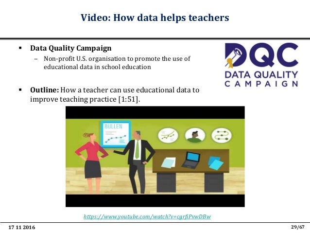 17 11 2016 41/67 Indicative examples of Teaching Analytics as part of Learning Management Systems # Venture Logo Tool Vent...