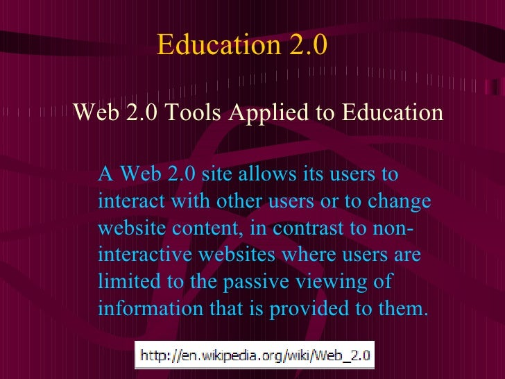 Education 2.0: Leveraging Collaborative Tools for Teaching Slide 2