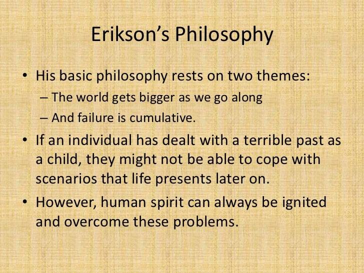 erik erikson philosophy