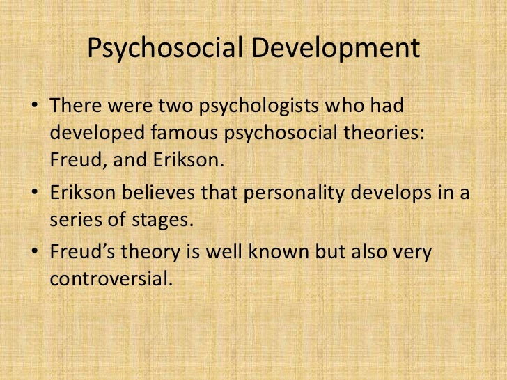 picture about Printable Erikson's Stages of Development identified as Eriksons Psychosocial Degrees of Developmetn