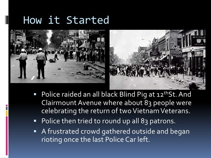 The Detroit Riot Of 1967