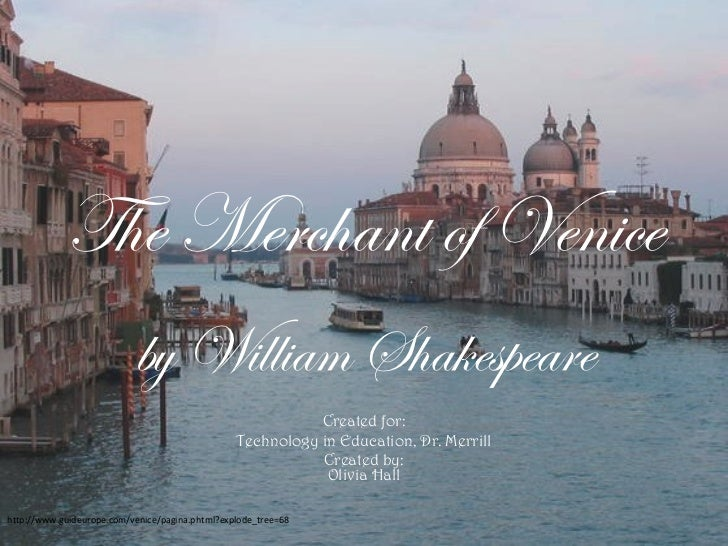merchant of venice essay introduction