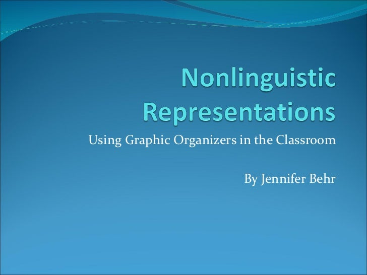Using Graphic Organizers in the Classroom By Jennifer Behr