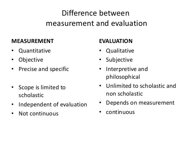 educational measurement and evaluation essay Educational measurement, assessment and evaluation opposite of objective it is scored affected by biasand it is common in the form of essay note: essay test can be objective 45 educational measurement and evaluation pretzel red testing.