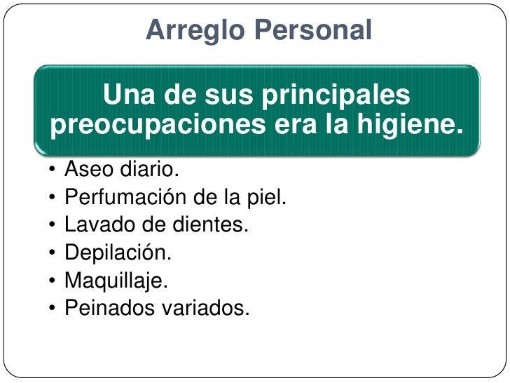 Arreglo Personal<br />
