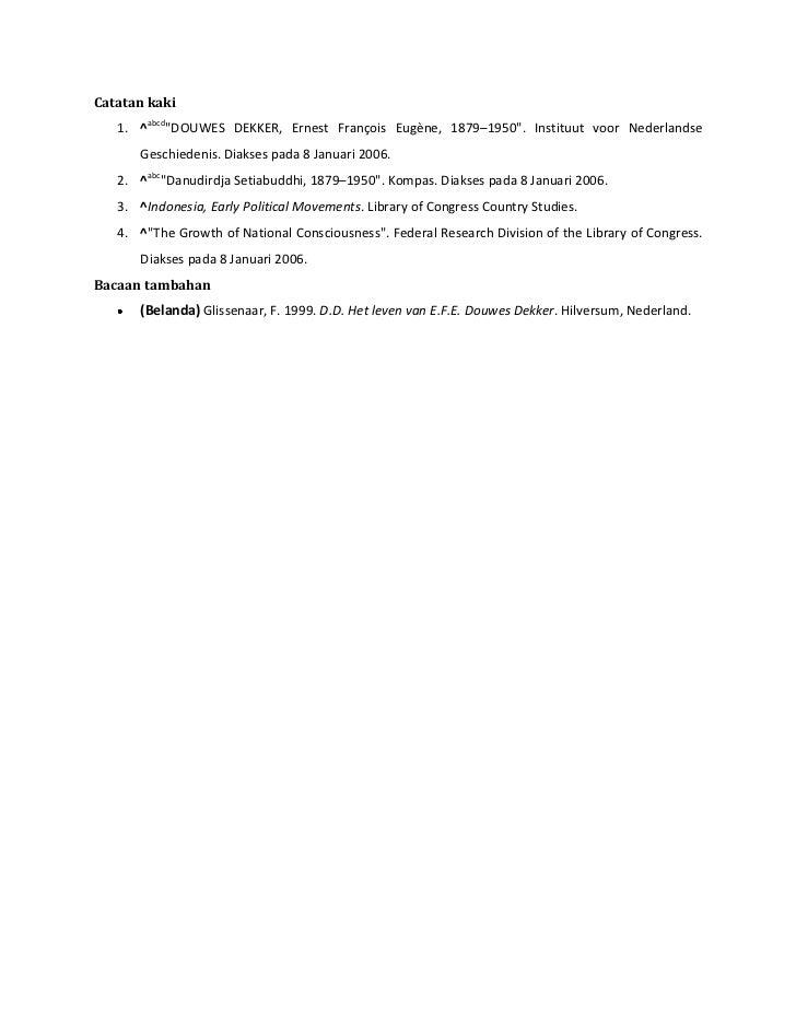 Eduard dan ernest douwes dekker for Retrenchment letter template
