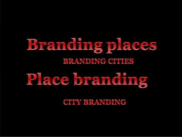 From Selling the City to City Branding. A Critical Perspective.  Eduardo Oliveira e.h.da.silva.oliveira@rug.nl 14 January ...