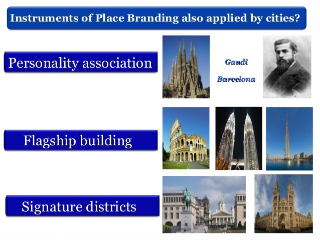 City Branding, future thinking and key words