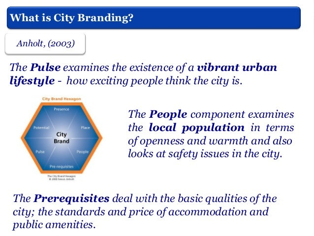From Selling the City to City Branding. A Critical Perspective
