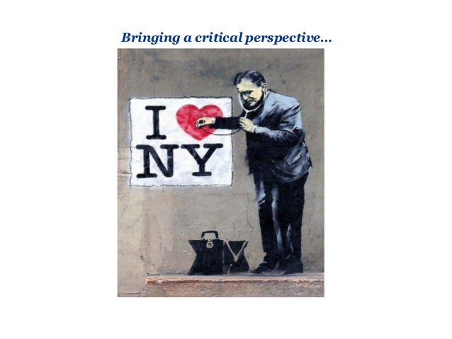 Critical perspective…  Questioning Richard Florida Existence of a 'creative class' within a city automatically leads to t...