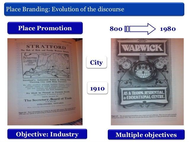 Place Branding: Evolution of do discurso Marcas Territoriais: Evoluçãothe discourse Hankinson, (2010) From the genesis til...